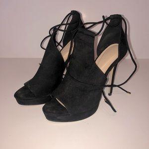 ALDO Lace up heels